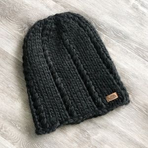 The North Face Chunky Knit Woven Beanie Hat